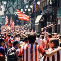 Athletic in Barcelona
